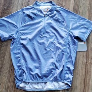 NEW Cannondale Womans Blue Cycling Jersey Med